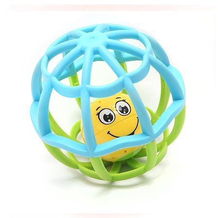 Плеер Азбукварик Мячик Хохотуша музыкальный Голубой-Зеленый