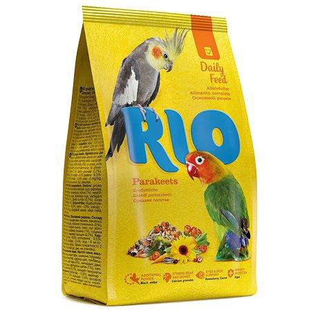 Корм для попугаев RIO средних основной 500г 22715