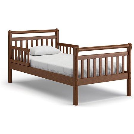 Кровать подростковая Nuovita Delizia Темный орех