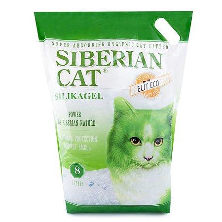 Наполнитель для кошек Сибирская кошка Элита Эко 8л
