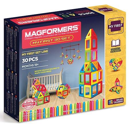 Магнитный конструктор Magformers My First 30 set