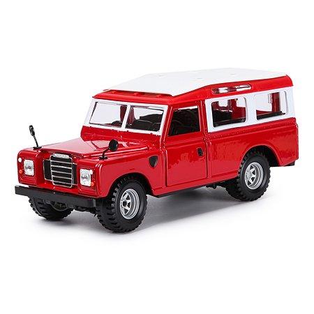 Машина BBurago 1:24 Landrover 18-22063