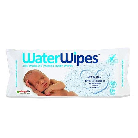 Салфетки влажные WaterWipes 60шт 400110-001
