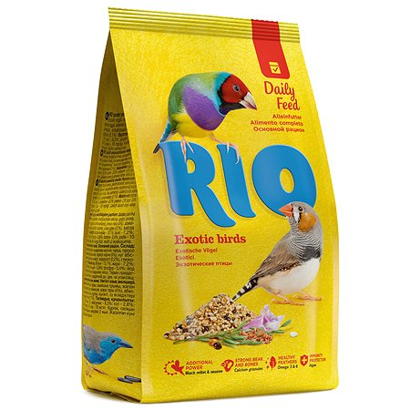 Корм для экзотических птиц RIO основной 500г 22861