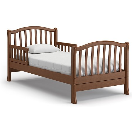 Кровать подростковая Nuovita Destino Темный орех