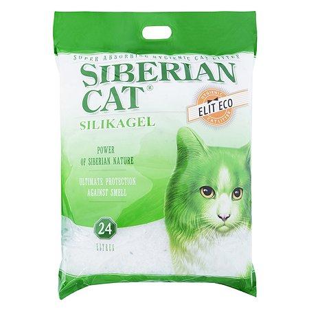 Наполнитель для кошек Сибирская кошка Элита Эко 24л