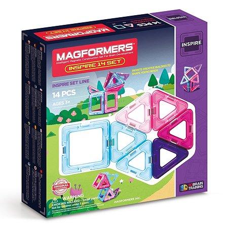 Магнитный конструктор Magformers Inspire 14 Set