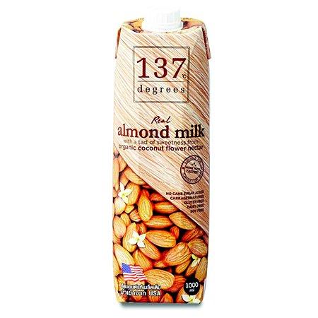 Молоко 137 Degrees миндальное с нектаром кокосовых соцветий 1л