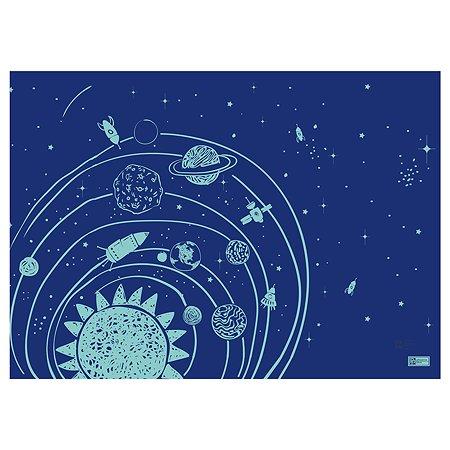 Пленка для уроков труда Феникс + Космос цветная 51148