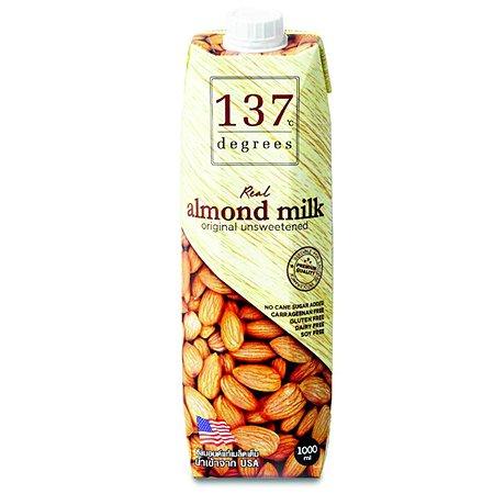 Молоко 137 Degrees миндальное без сахара 1л