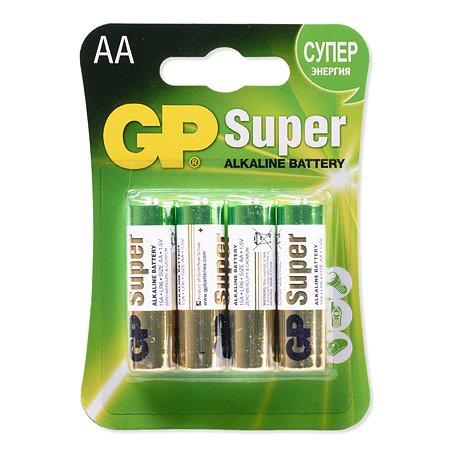 Батарейки GP 4шт GP 15A(LR6)-BL(C)4
