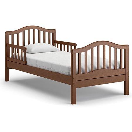 Кровать подростковая Nuovita Gaudio Темный орех