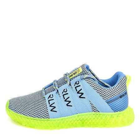 Кроссовки Run голубые