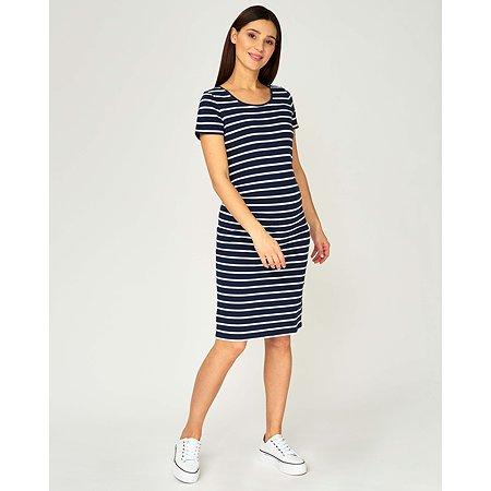 Платье для беременных Just Mom Ulla тёмно-синее