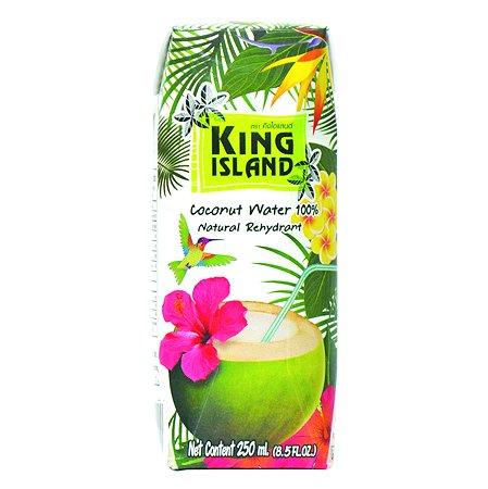 Вода King Island 100% кокосовая без сахара 250мл
