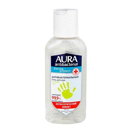 Гель для рук AURA Antibacterial Derma Protect Зеленый чай 100мл