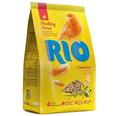 Корм для канареек RIO в период линьки 500г 23544