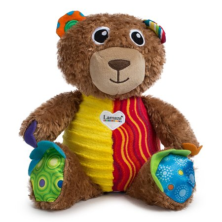 Развивающая игрушка Lamaze Мой Первый Плюшевый Медвежонок