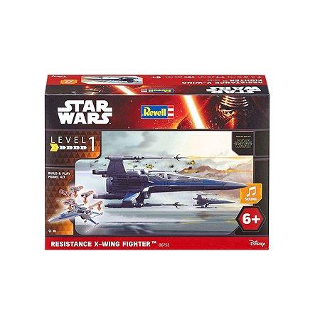 Модель для сборки Revell Звездные войны Истребитель Х-Wing Собери и играй