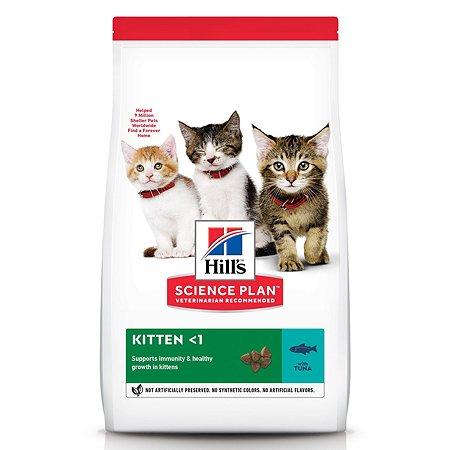 Корм сухой для котят HILLS Science Plan 7кг с тунцом для здорового роста и развития