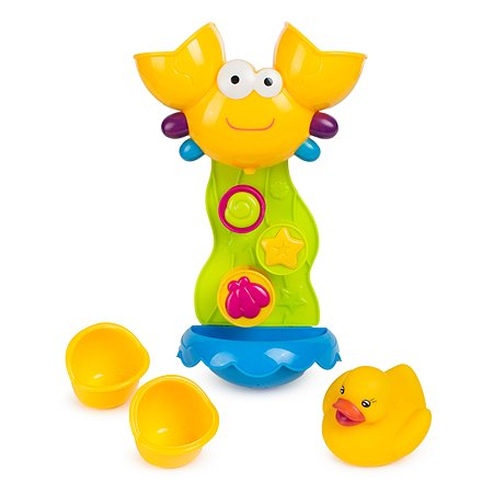 Солнечный краб Baby Go для ванны