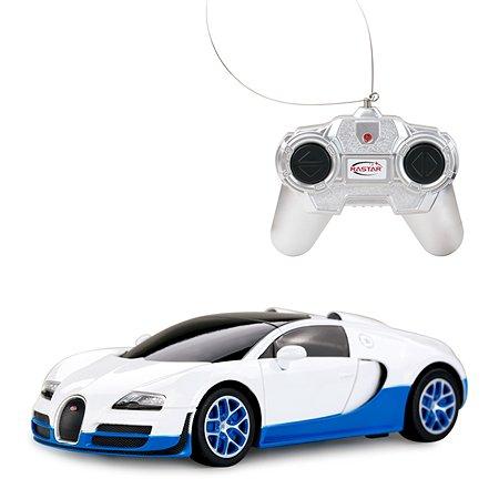 Машинка р/у Rastar Bugatti GS Vitesse 1:24 белая