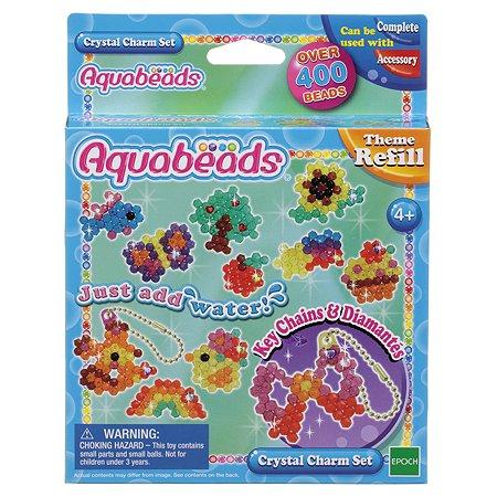 Тематический набор бусин Aquabeads Потрясающие брелочки