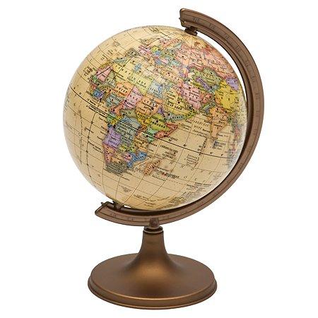 Глобус-Ретро Ди Эм Би Политический.Мини-энциклопедия Страны Мира 16 см