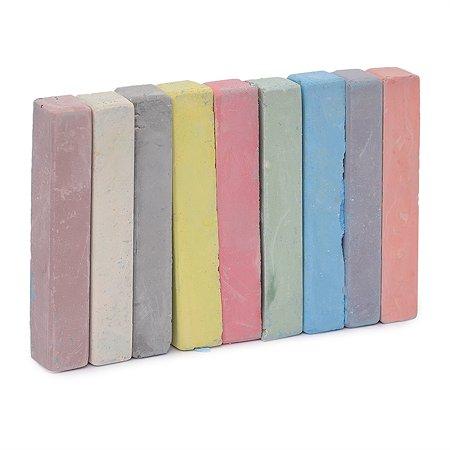 Мел цветной Silwerhof 9 цв.картонная коробка