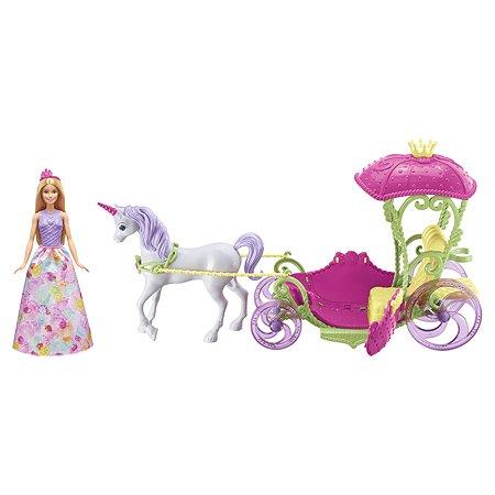 Набор Barbie Конфетная карета и кукла