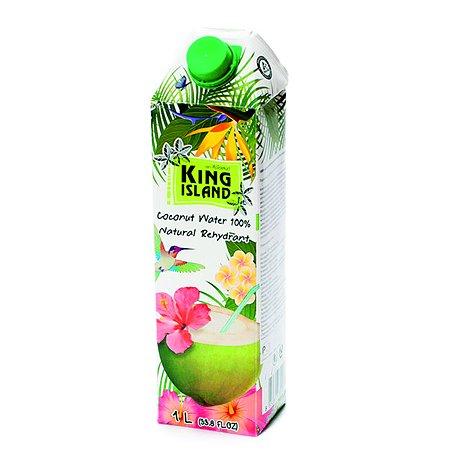 Вода King Island 100% кокосовая без сахара 1000мл