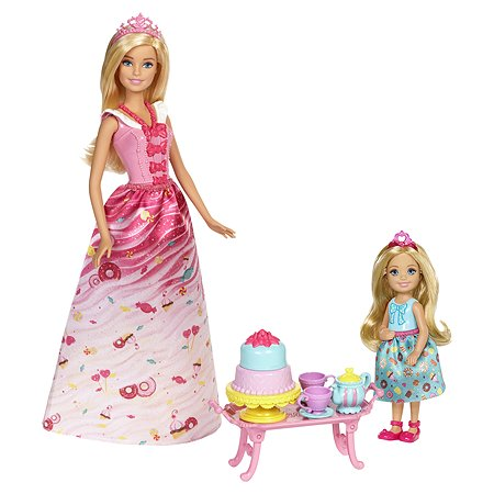 Набор Barbie Чаепитие в Сладкограде