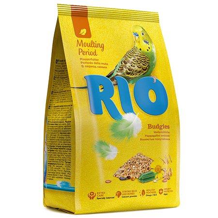Корм для волнистых попугаев RIO в период линьки 500г 24458