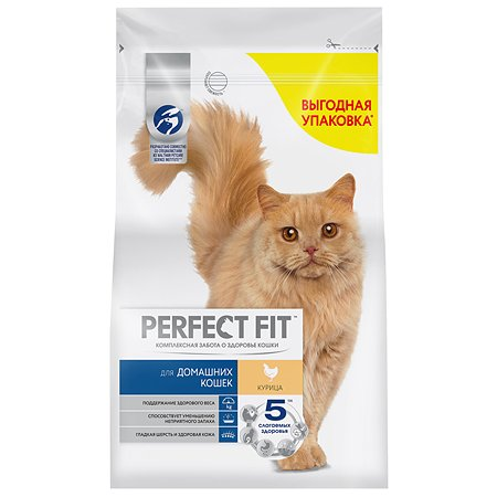 Корм сухой для кошек PerfectFit 2.5кг курица