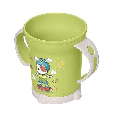 Чашка Пластишка 270мл с 12месяцев Зеленый
