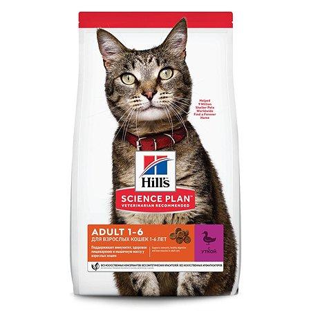 Корм сухой для кошек HILLS Science Plan 3кг с уткой