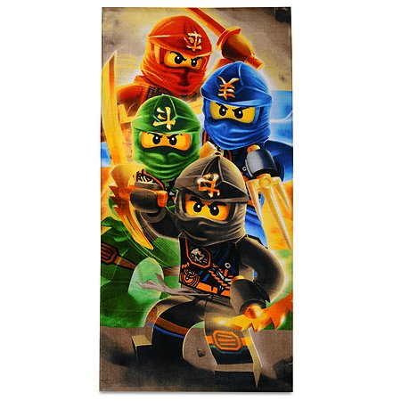 Полотенце LEGO Ninjago Quadrant Towel LG6QUD