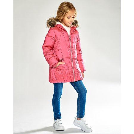 Пальто Futurino Cool малиновое