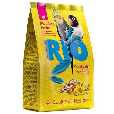 Корм для попугаев RIO средних в период линьки 1кг 40764