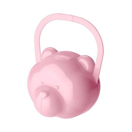 Футляр для пустышки Пластишка Розовый 431304805