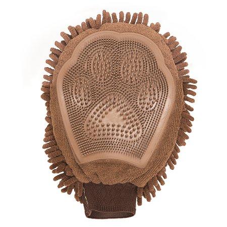 Перчатка для груминга DogGoneSmart GroomingMitt Коричевая