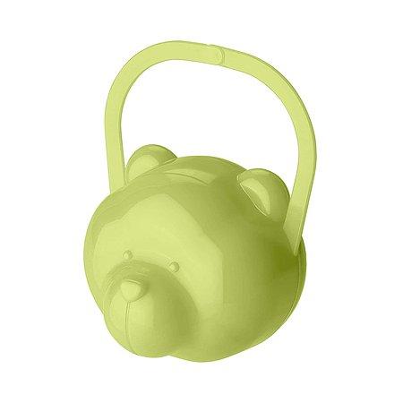 Футляр для пустышки Пластишка Зеленый 431304809