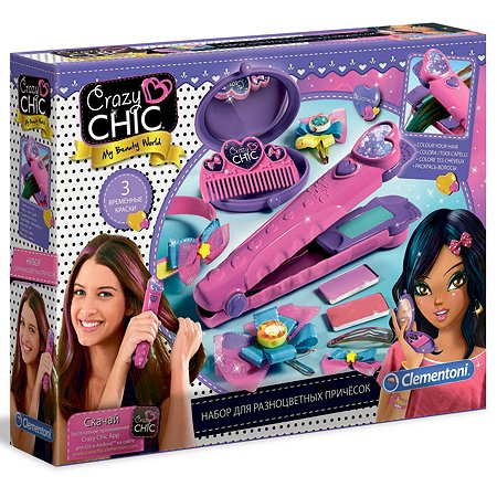 Набор Clementoni Стайлер для волос 50620