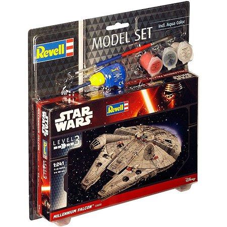 Модель для сборки Revell Звездные войны Набор Тысячелетний сокол