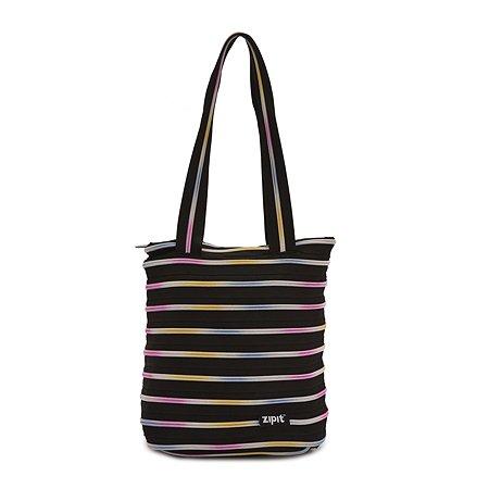 Сумка Zipit Premium Tote/Beach Bag Чёрный/мульти
