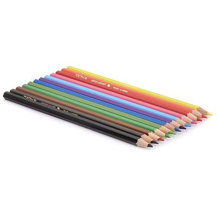 Набор цветные карандашей Adel 12 цветов