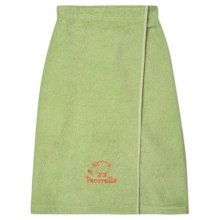 Полотенце на липучке Pecorella Зеленое