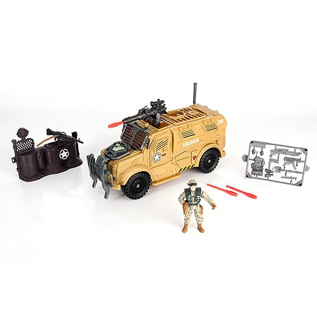 Игровой набор Chapmei Бронемобиль пехоты 1 фигура стреляет