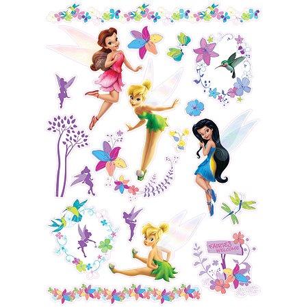 Интерьерный стикер Decoretto Disney Феи в сказочном саду
