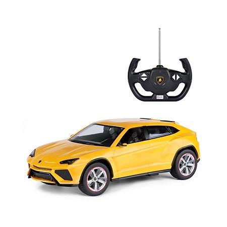 Машинка на радиоуправлении Rastar Lamborghini RUS 1:14 Желтая